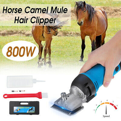 800W Electric Animal Sheep Mule Cow Horse Clipper Camel Hair Shaver Shearing AU
