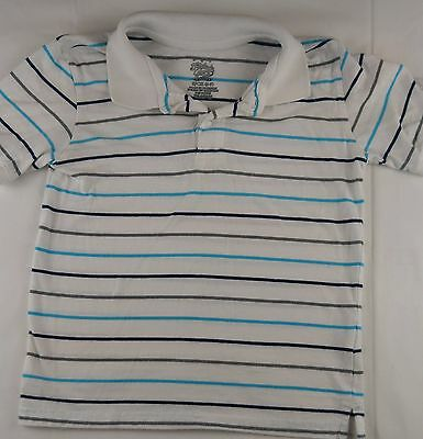 95d241fb9 Faded Glory Boys Polo Shirt Size Small 6 7 Short Sleeve Sz S Button Up Lot