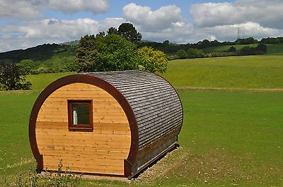 Two Night Glamping Pod Break for Two within a mile the famous Ironbridge