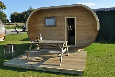 Two Night Glamping Pod Break for up to four within a mile the famous Ironbridge