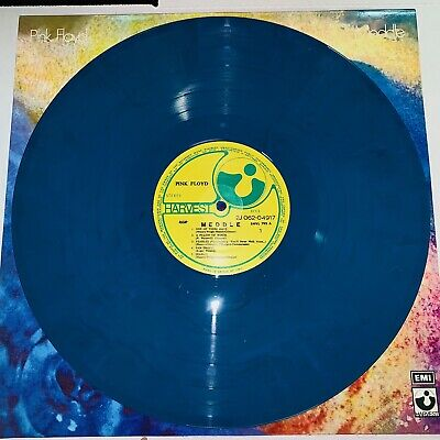 Pink Floyd, Meddle , Blue Colored Vinyl Lp, New Import