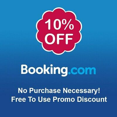 Booking.com 10% Off Voucher - No Purchase Necessary! Free To Use Promo Discount