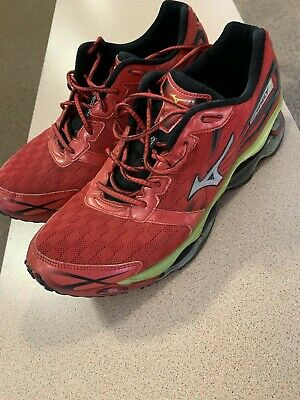 factory price ead0d ca7a6 MIZUNO WAVE PROPHECY 2 (Red) Men's Running Shoes (11.5 US)