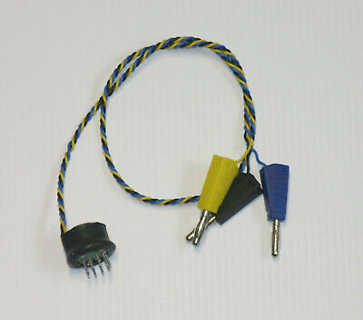 Bias Probe EL84 6P14 6P1 B9A -micro size  -measures bias current + plate voltage