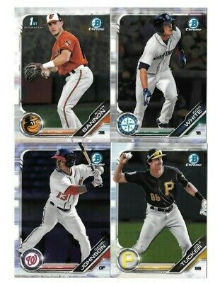 2019 Bowman Base Chrome Prospects You Pick/Choose Card BCP-1 to BCP-150