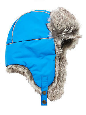 d7d690b762e7a John Lewis Children's Ski Trapper Hat / Blue 9-12 Years Brand New With Tags