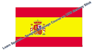 Complete Spanish Language Course on USB Memory Stick, Car, MP3 Player on the go
