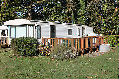 Mobile Home at Camping du Quinquis Brittany 5 Berth available Apr-Sept 2019