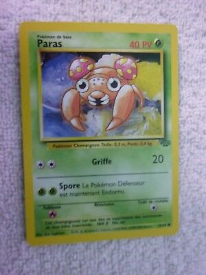 Carte pokémon paras 59/64 commune jungle wizard