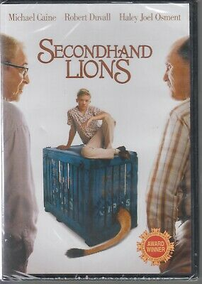 Secondhand Lions DVD 2003 NEW