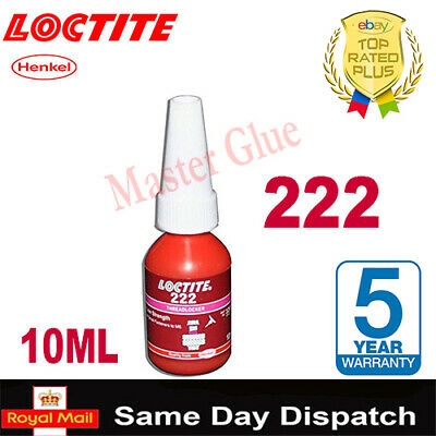 LOCTITE 222 /242/290/638/648/ THREADLOCK ADHESIVE GLUE 10 / 20g / 50 250 300 ML