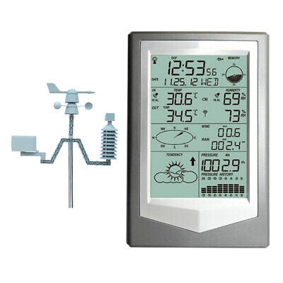 Home Wireless Weather Station Thermometer Sensor Humidity Meter Sensors