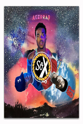 Chance The Rapper Acid Rap Hip Hop Music Album Hot Silk Poster C-755