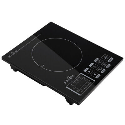 Electric Induction Cooktop Portable Digital Cooker Single Hot Plate @TOP