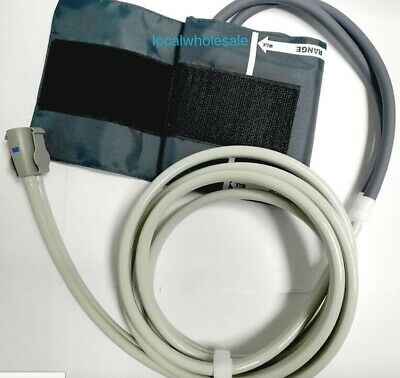 GE Dinamap NIBP Hose With Blood Pressure Cuff Compatible 78inch