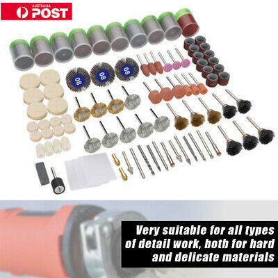 350Pcs/Kit Rotary Tool Accessories Bit Set Drill Polishing For Dremel Grinding