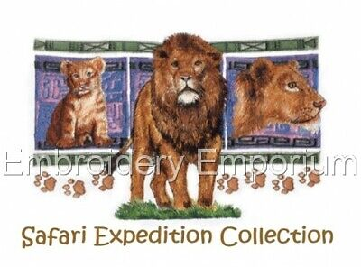 Safari Expedition Collection - Machine Embroidery Designs On Cd Or Usb