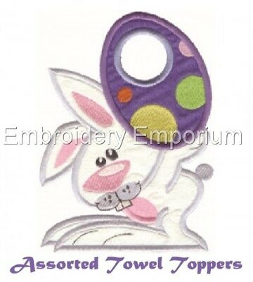 Assorted Towel Toppers Collection - Machine Embroidery Designs On Cd Or Usb