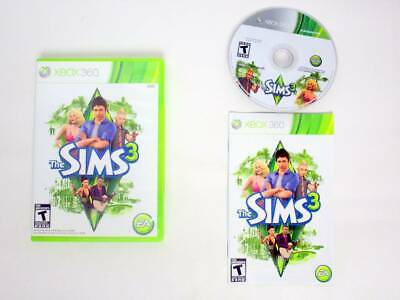 The Sims 3 game for Microsoft Xbox 360 -Complete