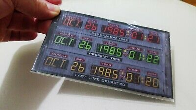 Circuits Of Time Delorean Replica Back To The Future fading in time Brown McFly