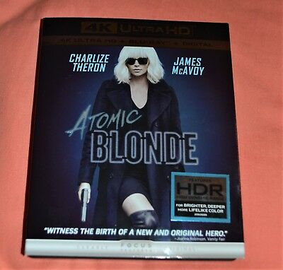 ATOMIC BLONDE 4K (UHD + Blu-ray + Digital HD)
