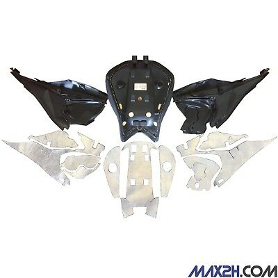 Ducati Panigale Heat Shield Kit - 1199/1299 Panigale