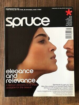 spruce magazine #1 elegance and relevance by wallpaper magazine