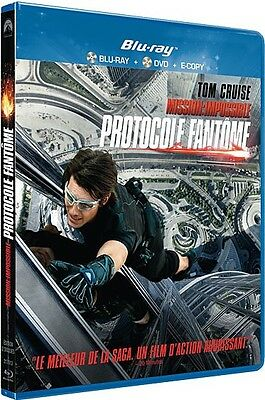 Blu-ray : MISSION IMPOSSIBLE - PROTOCOLE FANTÔME [ Tom Cruise ]  NEUF cellophané