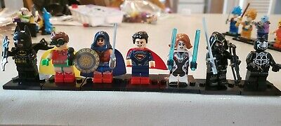 1 Set of Mini figure xray markers 1 R and 1 L  with two Initials/number avengers