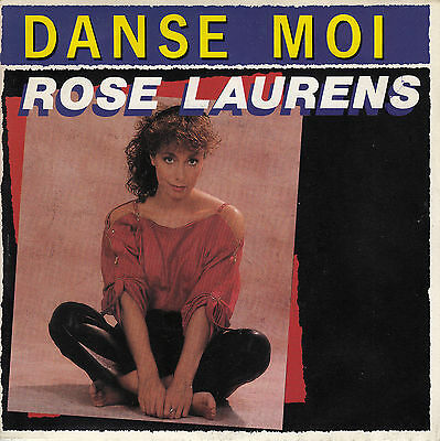 45Trs Vinyl 7''/ French Sp Rose Laurens / Danse Moi / Neuf / Mint