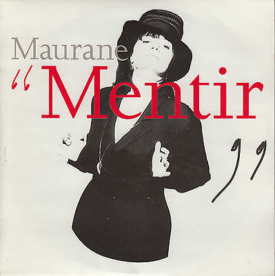 45Trs Vinyl 7''/ French Sp Maurane / Mentir / Neuf / Mint