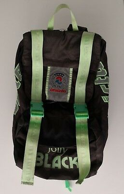 05d8bdf4e3 ZAINO INVICTA jolly black VINTAGE BACKPACK BAG ANNI '90 ZAINETTO rucksack  VIN19