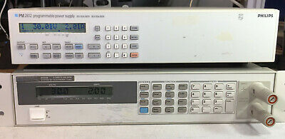 Philips Fluke PM2812 Variable DC Power Supply 0-30V @ 0-10A 60W GPIB Load Tested