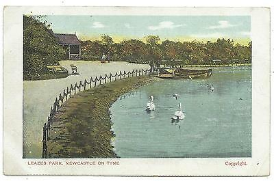 NORTHUMBERLAND - NEWCASTLE ON TYNE, LEAZES PARK Postcard *