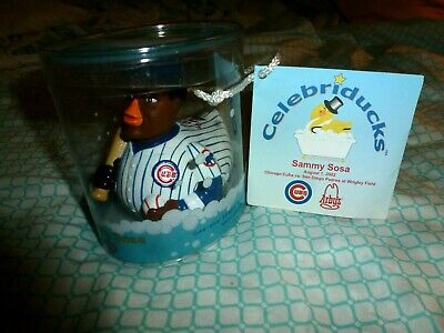 ca2f210e1 Vintage Chicago Cubs Sammy Sosa Celebriduck 2002 Collectible with dated tag!