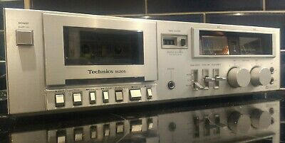 Technics RS-M205 Retro Tape Deck - Stereo Cassette Player/Recorder MADE IN JAPAN