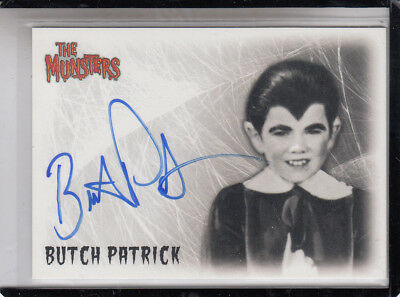 "2005 Rittenhouse The Munsters Butch Patrick ""Eddie Munster Autograph Auto"