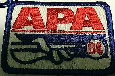 Apa 1996 Membership Patch Patches American Poolplayers Indoor Games