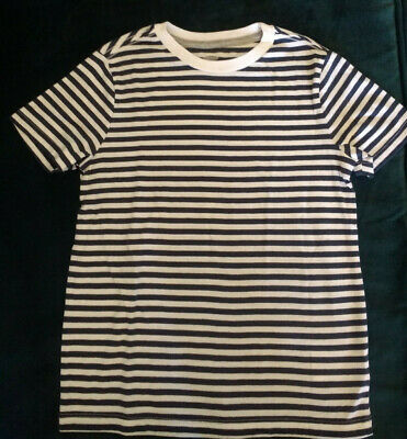 c24ac953 OLD NAVY BOYS Red/Black Stripes Thermal Long Sleeve Shirt Top Size S ...