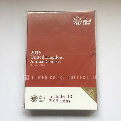 The 2015 United Kingdom Brilliant Uncirculated 13 Coin Set - Still Mint Sealed