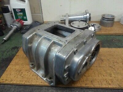 NICE GM 371 Blower Supercharger Case Crager Rat Hot Rod Flathead Cad Y  Block 32