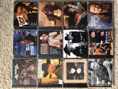 Country Music Lot Of 12 CDs (Alabama-Cash-Willie-Shelton-Jackson-Shelton-Tritt)