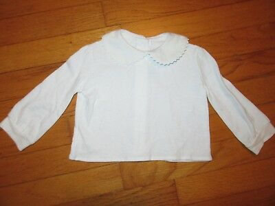funtasia! too... White L/S Shirt to Wear with Smocked clothing 12 Months