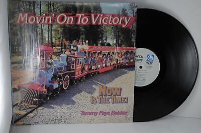 Tammy Faye Bakker Movin' On To Victory PTL Club Records & Tapes 1984 LP