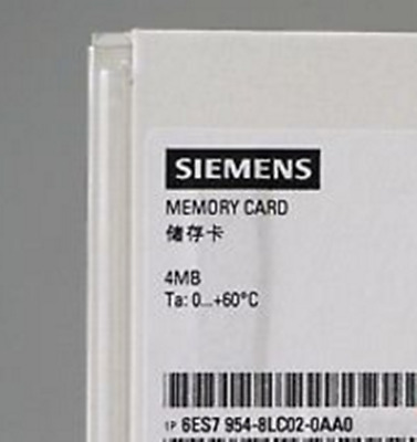for Siemens S7-1200 4MB Memory Card 6ES7954-8LC02-0AA0 #JIA