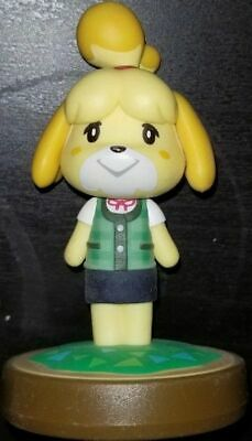 Isabelle amiibo Summer Outfit Animal Crossing Series New Leaf Loose Used