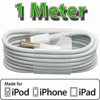 Apple iPhone iPad compatible Lightning to USB cable cord charger adaptor 6 7 8 X