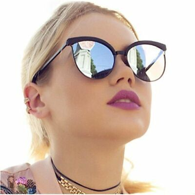 New Women Sunglasses Polarized Cat Eye Oversized Classic Retro Design Aviator