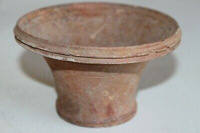 ANCIENT GREEK ETRUSCAN POTTERY BUCCHERO WARE OLPE 5/4th CENTURY BC