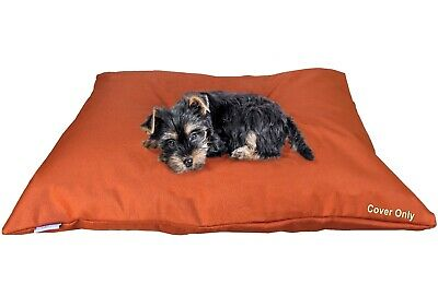 """Do It Yourself DIY Durable Waterproof Pet Dog Cat Bed Cover 48""""x29"""" Large Rust"""